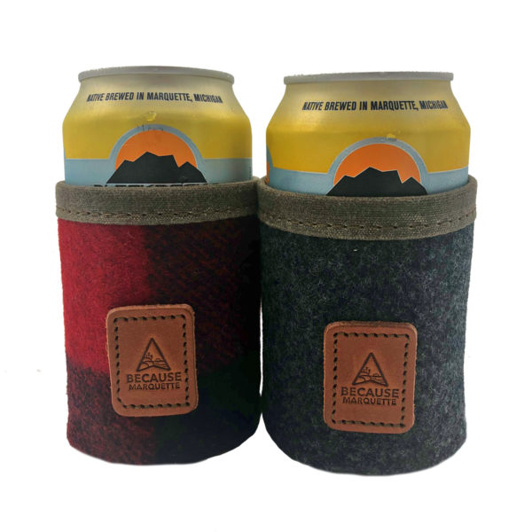 Koozie Wool Canas Because Marquette T-Shirt Shirt Logo Design Apparel Yooper Shirt