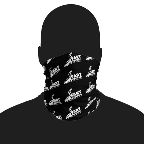 fart squirrel face mask ski mask neck gaiter making a stink about the outdoors
